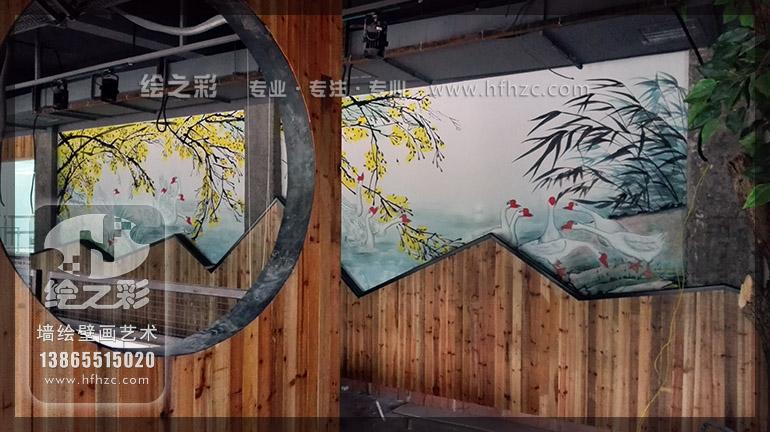 新农村文化墙宣传画,城镇墙面宣传画,新农村文化墙手绘,新农村建设
